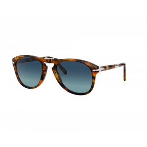 Persol 0714 Steve Mc Queen Large Polarized Blue Caffè