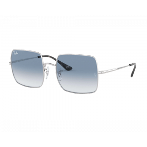 Ray-Ban 1971 Square Silver Light Blue Gradient