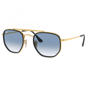 Ray-Ban 3648M The Marshal II Gold Light Blue Gradient