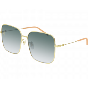 Gucci GG0443S Gold Green Gradient