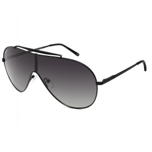 Polar Sunglasses Viper Matte Black Smoke Gradient Polarized
