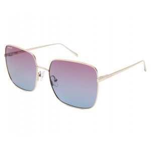 Polar Bloom 01 02/P Shiny Gold Purple Blue Gradient Polarized