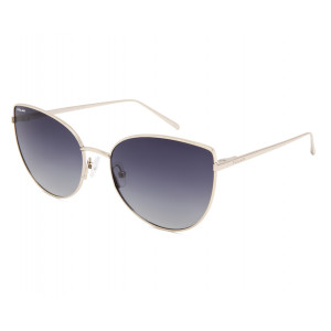 Polar Bloom 02 02/F Shiny Gold Smoke Gradient Polarized