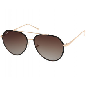 Polar Club 01 02 Black/Gold Brown Gradient Polarized