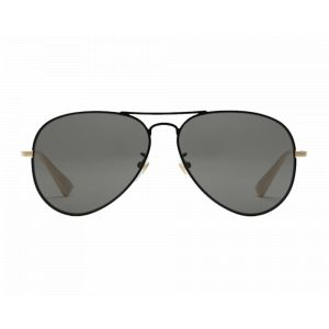 Gucci GG0514S Black/Gold Grey