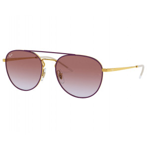 Ray-Ban 3589 Gold Top On Violet Violet Gradient