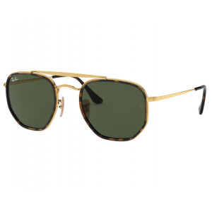 Ray-Ban 3648M The Marshal II Gold Green
