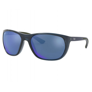 Ray-Ban Rb4307 Transparent Blue Blue Mirror