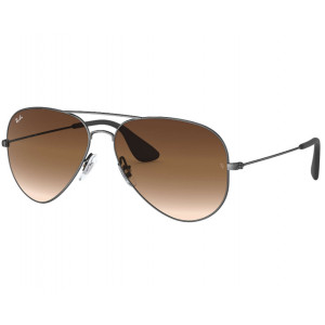 Ray-Ban RB3558 Black Brown Gradient