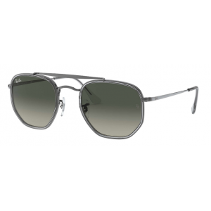 Ray-Ban 3648M The Marshal II Gunmetal Gris Dégradé