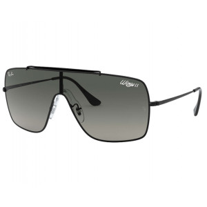 Ray-Ban Wings II Black Grey Gradient