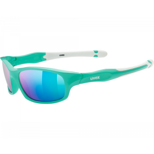 Uvex Sportstyle 507 Green White Mirror Green