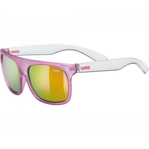 Uvex Sportstyle 511 Rose translucide Mirroir Rose