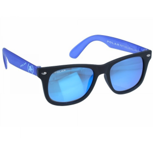 Polar Junior 577 02 Shiny Black Blue Mirror Polarized