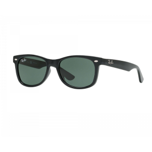 Ray-Ban Junior New Wayfarer Noir Brillant / Vert