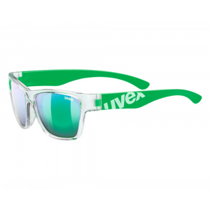 Uvex Sportstyle 508 Green Clear Mirror Green