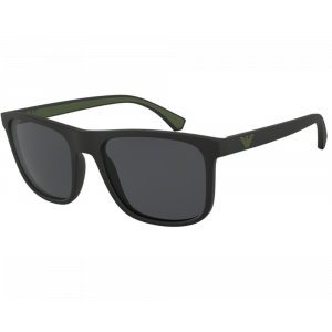 Emporio Armani 4129 BLACK RUBBER/GREEN