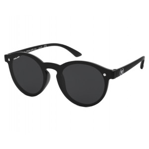 Polar Junior 596 76 Matte Black Smoke Polarized