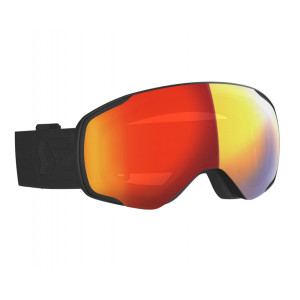 Scott Vapor LS Noir Red Chrome Photochromic