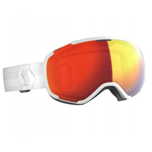 Scott Faze II LS White Red Chrome Photochromic