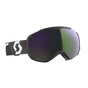 Scott Ski Goggles Faze II Black/White Green Chrome