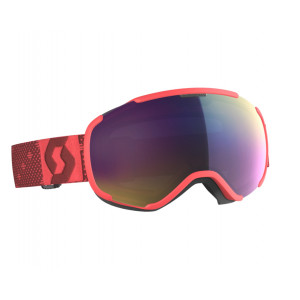 Scott Ski Goggles Faze II Pink Teal Chrome