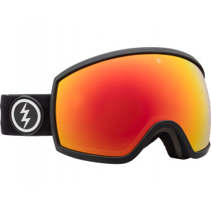 Electric OTG Ski Goggles EGG Matte Black Brose/Red Chrome