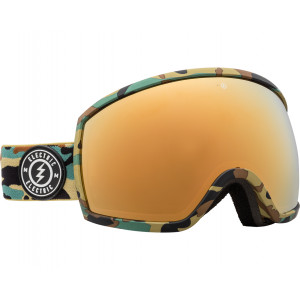 Electric OTG Ski Goggles EGG Camo Brose/Gold Chrome