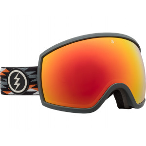 Electric Masque de ski OTG EGG Nuevo Rust Brose/Red Chrome