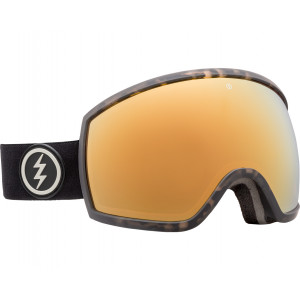 Electric OTG Ski Goggles EGG Burnt Tortoise Brose/Gold Chrome