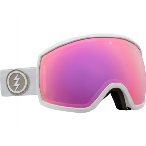 Electric OTG Ski Goggles EGG Matte White 2 lenses