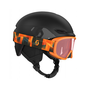 Combo Scott Helmet Keeper 2 + Goggle Witty Jr Black