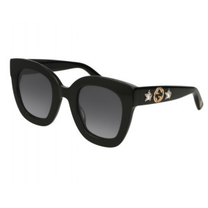 GUCCI GG0208S Black Grey Gradient