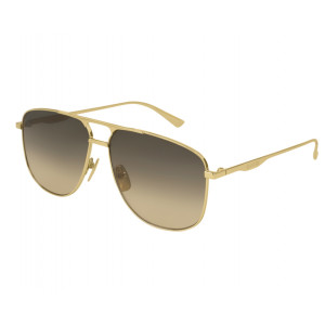 GUCCI GGG0336S Gold Brown Gradient