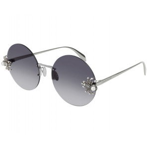 Alexander McQueen AM0207S Ruthenium Gray Gradient
