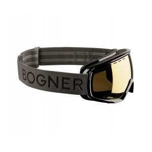 Bogner Masque de ski Monochrome Gold Ruthenium