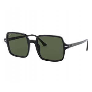 Ray-Ban 1973 Square II Black Green G-15