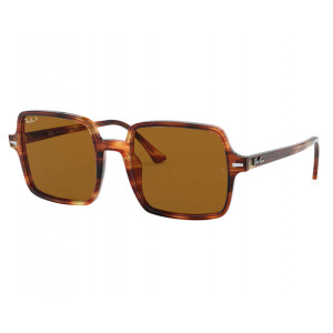 Ray-Ban 1973 Square II Havana Brown B-15 Polarized