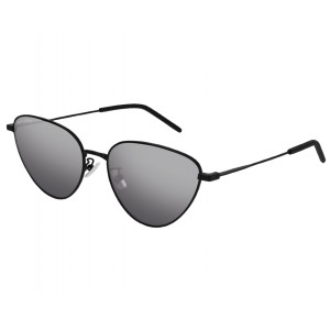 SAINT LAURENT SL 310 Noir Silver Mirror