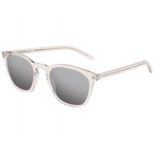SAINT LAURENT SL 28 SLIM Beige Silver Mirror