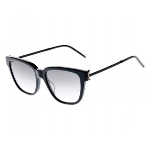 SAINT LAURENT SL M48S Black Smoke Gradient