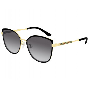 GUCCI GG0598SK Black/Gold Grey Gradient