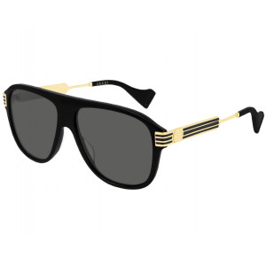 GUCCI GG0587S Black/Gold Grey