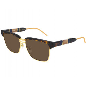 GUCCI GG0603S Havana/Gold Brown Gradient