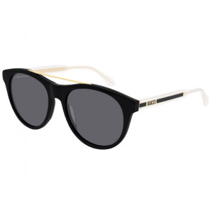 GUCCI GG0559S Black/Gold/Crystal Grey
