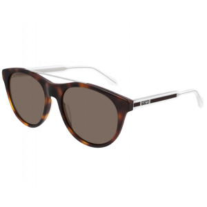 GUCCI GG0559S Havana/Silver/Crystal Brown