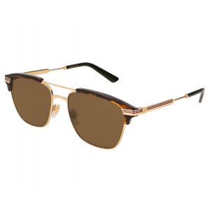 Gucci GG0241S Gold Gold Grey