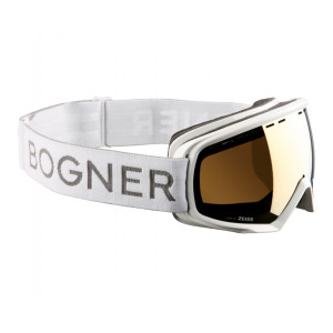 Bogner Masque de ski Monochrome Gold White