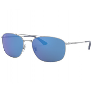Ray-Ban RB3654 Silver Blue Mirror