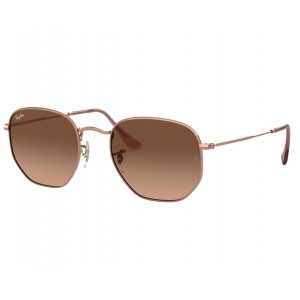 Ray-Ban Hexagonal Flat Lenses Gold G-15 XLT